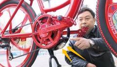 """重庆牛人发明""""任意""""踩自行车,获10项专利,看"""