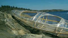 外国牛人用保鲜膜造船,真能下水行驶吗?网友