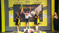 环法自行车赛 凯勒·伊万第十一赛段冲刺夺冠