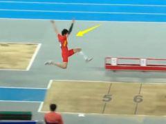 逆风创历史!中国飞人这一跳让亚运会冠军绝望