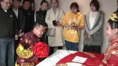 农村婚礼:新郎求婚还不忘调戏新娘,真是太搞