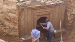山东香山发现瓷器碎片,考古队挖出帝王墓,专