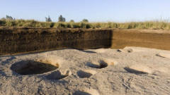 考古学家发掘出新石器时代村庄,发现大量动物