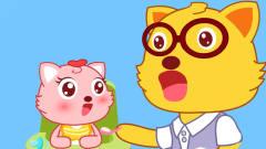 猫小帅欢乐时刻喂饭的爸爸:爸爸给宝宝喂饭不