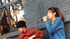 美女翻唱一首《不能说的秘密》,开口酥的声音
