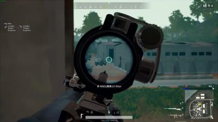 绝地求生:二倍M762,这枪打起来实在是吃力