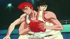 灌篮高手,樱木开始搞笑,他还这么称呼三井寿