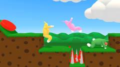 超级兔子人-三人搞笑PK 看毛哥如何1打2获胜的!
