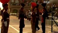 局座张召忠:印巴边境换岗仪式,这场面也太搞