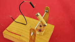 牛人发明:大学生制作的简易直流电机,刷新了