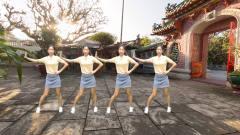 热门神曲广场舞《 情人街》简单舞步美女领舞,