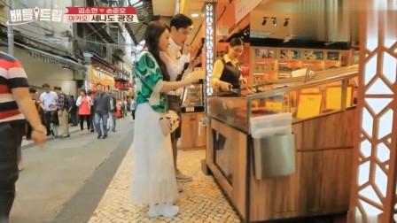 """韩国综艺:中国这道""""街边小吃""""让全场韩国人"""