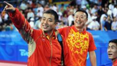 劉國梁運動生涯最后一戰,與馬琳大戰5回合,直