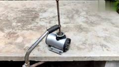 牛人脑洞大开用螺丝制作成这工具,许多工人用