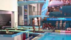 超搞笑的一次双人跳水,两个人都严重失误