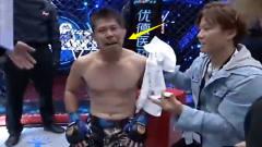 日本选手被打哭了!被18岁中国小伙被残暴KO了,