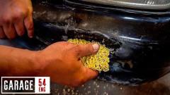 奇闻:方便面能修复破损的汽车?老外亲自试验
