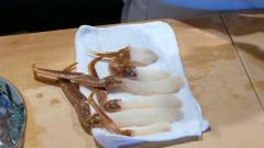 日本顶级料理,看大厨如何制作螃蟹刺身,看制
