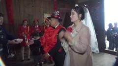 湖南农村拜堂风俗,新娘有点微胖,估计一下有