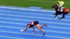奇闻:挪威一女子用四肢行走,翻越一切障碍不