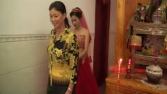 海南农村婚礼风俗,新娘出嫁前,要围着菩萨转