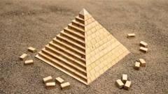 神秘的金字塔是怎样建成的?牛人用木块演示建