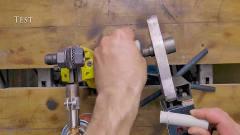 牛人发明:长见识了!工人用螺丝制作这个实用