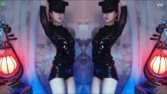 #最劲热舞#黑色轻纱皮裙美女热舞, 认真的人能看