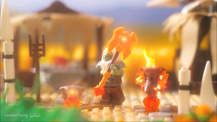 炉石传说《奥丹姆守护者》乐高定格动画