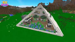 我的世界〈恶搞〉金字塔顶端的都是神?是仙人