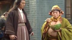港版西游记搞笑担当:猪八戒!用筷子吃西瓜,