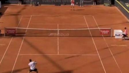 汉堡网球赛 兹维列夫晋级八强
