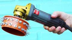 牛人用发明制作的这个工具,太实用了,发明者