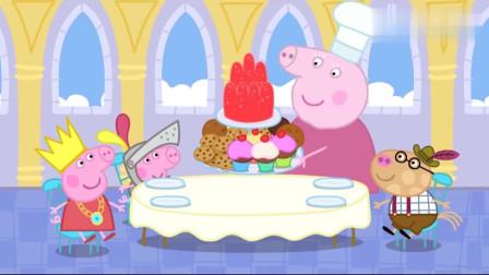 小猪佩奇佩奇要听睡前故事, **讲的不好, 佩奇给**讲了一个
