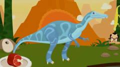 考古學家沙漠挖掘  恐龍世界大發現 恐龍骨骼化