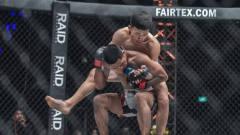 太狠了!中国小伙残暴裸绞降服日本选手,日本
