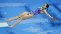 吴敏霞生涯唯一0分,跳水失误依然坚持做完动作