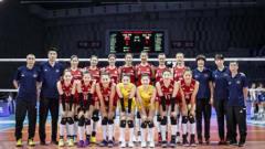 喜提开门红!中国女排3-0横扫捷克