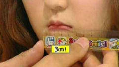 """韩国美女拥有最小的嘴巴,仅3公分能拿来""""干嘛"""