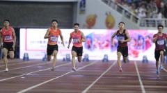 田径世锦赛选拔赛百米大战 谢震业逆转苏炳添夺