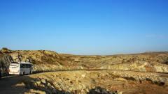 韩国美女去新疆自驾游,开了七天怀疑人生,网