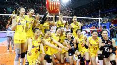 中国女排3-0横扫土耳其,三连胜获东京奥运入场