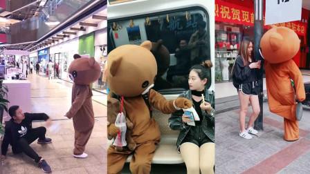 热门搞笑合集(第102期)网红熊爆笑系列