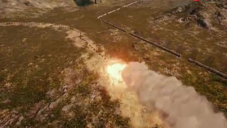 绝地求生高能视频: 实力演示1000汽油桶连环爆炸
