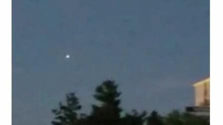 美国俄亥俄州8月3日UFO目击者录像合集