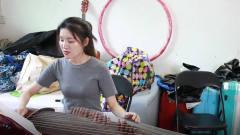 """古筝入门:古典美女教你弹""""黎族舞曲"""",声音"""