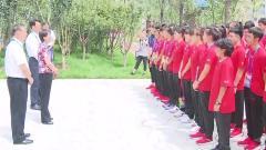 省政府相关负责同志看望参加二青会的安徽体育
