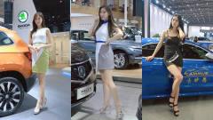 美女车模:车展上,美轮美奂的车模太吸睛,摄