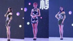 美女车模:车展上穿着旗袍的美女,完美身材境