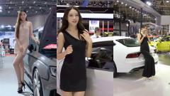 美女车模:长腿车模的日常,就要在车展上展现